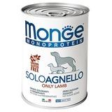 Monge Dog Monoproteico Solo паштет из ягненка 400 г