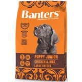 Banters Puppy Junior Junior Large курица с рисом, сухой корм для щенков крупных пород
