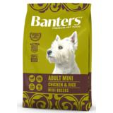 Banters Adult Mini курица с рисом сухой корм для собак мелких пород