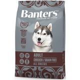 Banters Adult Беззерновой сухой корм с курицей сухой корм для собак всех пород с чувствительной пищеварительной системой.