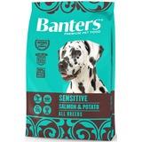 Banters Sensitive лосось с картофелем сухой корм для собак всех пород с чувствительной пищеварительной системой.
