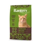 Banters Sterilized рыба с рисом полнорационный корм для взрослых стерилизованных кошек и кастрированных котов от 12 месяцев и старше.