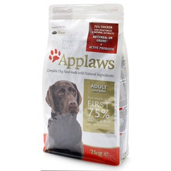 Applaws беззерновой корм для взрослых собак крупных пород курица/овощи