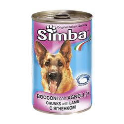 Monge Simba Dog консервы для собак ягненок