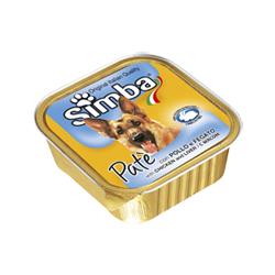 Monge Simba Dog паштет курица с печенью 150 г
