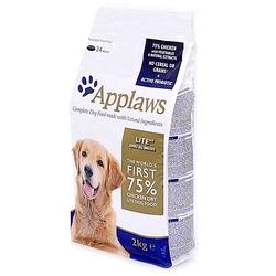 Applaws Lite, беззерновой корм для взрослых собак всех пород, облегченный, курица/овощи