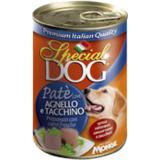Special Dog консервы для собак паштет ягненок с индейкой 400г