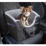 Trixie Автокресло для перевозки собак, 41*39*42 см, цвет серый с черным