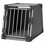 Trixie Транспортный бокс для перевозки собак в автомобиле, алюминиевый каркас с термоподстилкой