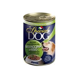 Monge Special Dog кусочки дичи с рисом, 400 гр.