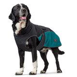 Hunter утепленная куртка со съемной флисовой подкладкой для собак Uppsala Allrounder, цвет антрацит/бирюзовый