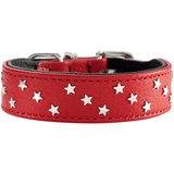Hunter ошейник Capri Mini Stars, красный со звездами
