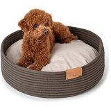 Hunter корзина-лежанка для собак Graz, цвет серо-коричневый
