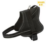 Trixie Шлейка для тренировки, с ручкой, Julius-K9® Pure, цвет черный