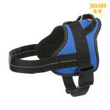 Trixie Шлейка для тренировки, с ручкой, Julius-K9® Pure, цвет синий