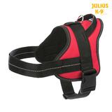 Trixie Шлейка для тренировки, с ручкой, Julius-K9® Pure, цвет красный