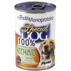 Monge Special Dog паштет из 100% мяса индейки 400 г