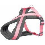 Trixie Шлейка с флисовой подкладкой Premium Touring, цвет фламинго