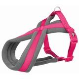 Trixie Шлейка с флисовой подкладкой Premium Touring, цвет фуксия
