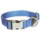 Trixie Ошейник Premium с комбинированной застёжкой, цвет королевский синий