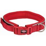 Trixie ошейник широкий с неопреновой подкладкой Premium, цвет красный