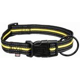 Trixie Ошейник Fusion Sporting, цвет черный с желтым
