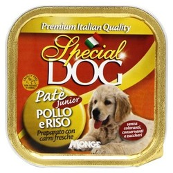 Monge Special Dog паштет для щенков курица с рисом 150 г