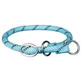 Trixie Ошейник-полуудавка Sporty Rope, цвет светло-синий
