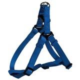 Trixie шлейка быстросъемная Premium One Touch, цвет синий