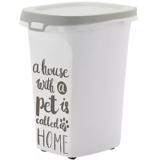 Moderna контейнер на колесиках для сухого корма Pet Wisdom, 20 литров, на 5-7 кг корма