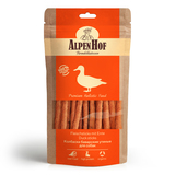 AlpenHof Колбаски баварские утиные для собак, 50г