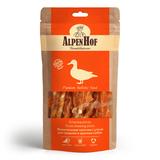 AlpenHof Жевательные палочки с уткой для средних и крупных собак, 80г