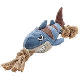 Hunter игрушки для собак Акула 39 см, с пищалкой