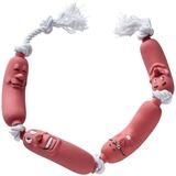 Hunter игрушка для собак Сосиска, 50 см, латекс/текстиль, коричневый