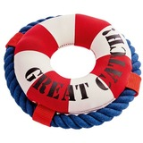 Hunter игрушка для собак Спасательный круг Aqua Hawi, 19 см