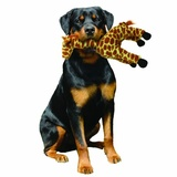 """Mighty супер прочная игрушка для собак """"Сафари"""" Жираф, 38 см, коричневый, прочность 8/10, Safari Giraffe"""