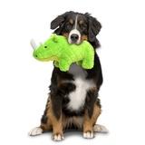"Mighty супер прочная игрушка для собак ""Сафари"" Носорог, 30 см, зеленый, прочность 8/10, Safari Rhinoceros Green"