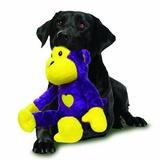 "Mighty супер прочная игрушка для собак ""Сафари"" Обезьяна, 38 см, цвет фиолетовый, прочность 7/10, Safari Monkey Purple"