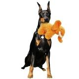 """Mighty супер прочная игрушка для собак """"Сафари"""" Слон Элли, 30 см, оранжевый, прочность 8/10, Safari Elephant Orange"""