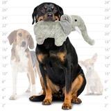 """Mighty супер прочная игрушка для собак """"Сафари"""" Слон Элли, 30 см, серый, прочность 8/10, Safari Elephant"""