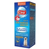 Ecoprom Cliny паста для вывода шерсти из желудка у кошек, вкус курицы