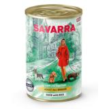 Savarra ADULT ALL BREEDS DOGS HOLISTIC Гипоаллергенный корм для взрослых собак всех пород (утка/рис/горох)
