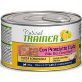 Trainer Natural Dog Adult Small & Toy Adult - With Dry-Cured Ham Консервы Тренер Натурал с сыровяленой ветчиной рисом и маточным молочком взрослых для собак мелких пород
