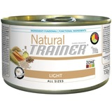 Trainer Natural Dog Adult Small & Toy Adult Light Консервы Тренер Натурал для взрослых собак мелких пород склонных к полноте