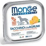 Monge Dog Monoprotein Fruits консервы для собак паштет из индейки с цитрусовыми 150г