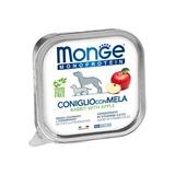 Monge Dog Monoprotein Fruits консервы для собак паштет из кролика с яблоком 150г
