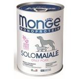 Monge Dog Monoprotein Solo консервы для собак паштет из свинины 400г