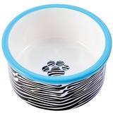 КерамикАрт миска керамическая для собак 600 мл зебра