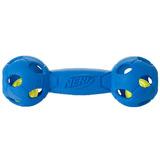 Nerf Игрушка для собак Гантель светящаяся, 17,5 см