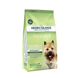 Arden Grange ягненок и рис для взрослых собак мелких пород Adult mini lamb & rice
